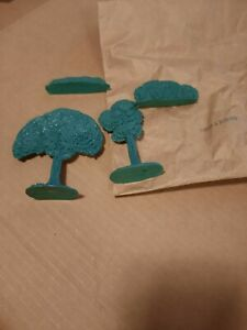 Barzso Davy Crockett Wilderness playset Trees and bushed