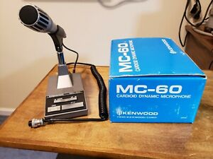 Kenwood MC-60A 8-pin Stand Desktop Microphone, Used Infrequently