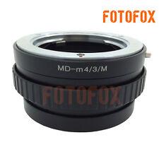Minolta MD MC lens to Micro 4/3 mount M4/3 adapter Macro Focusing Helicoid E-P5