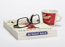 ARTORI Design Phraser Bookmark Be Right Back Blue Plastic Book Mark Page Saver