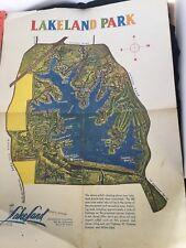 Lakeland Tn Lakeland Park 1959 Poster & Stock Brochure