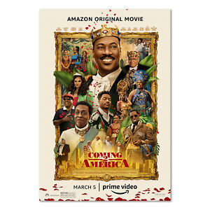 Coming 2 America Movie Poster 2021 - Official Art - High Quality Prints