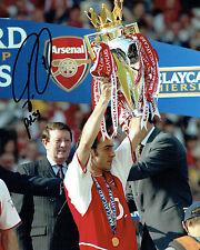 Robert PIRES SIGNED Autograph 10x8 Premier League Photo AFTAL COA ARSENAL