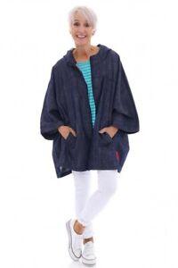 Ladies Denim Hooded Jacket size 8-26