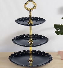 Three-layer Fruit Plate Cake Stand Kitchen Accessories Home Party Dessert Storag