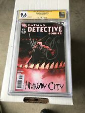 (B6)Detective Comics #876 CGC 9.6 SS  *2x Signed* *Scott Snyder & Jock Signature