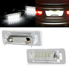 2X LED Error Free License Number Plate Light For MERCEDES BENZ E W210 95-02 W202