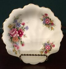 "5"" Royal Albert Chelsea Garden Shell Shape Soap/Candy/Nut Dish"