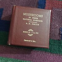 Mushrooms In Their Natural Habitats Sawyer's Viewmaster Reel 32 Only