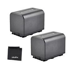 2x NP-FV70 NPFV70 Battery + BONUS f/Sony HDR-CX330 HDR-CX900 HDR-PJ810 FDR-AX100