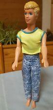 1989 Mattel Barbie KEVIN DOLL Skipper Boyfriend Boy Teen Ken Blond