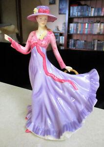 "Lovely ROYAL DOULTON  Figurine  "" Julie ""    23cm / 9 inches High - Original Box"