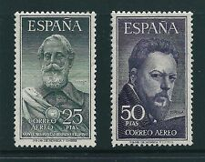 España 1953 Legazpi y Sorolla Edifil 1124-5 Sg 1187-1191 Mnh