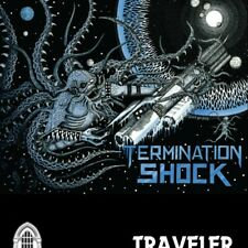 TRAVELER – Termination Shock TAPE (NEW*2nd ALBUM*CAN METAL*IRON MAIDEN*FORTRESS)