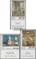 Israel 642-644 with Tab (complete issue) unmounted mint / never hinged 1975 Pain
