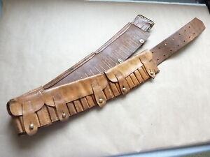 Boer War/WWI Canadian Made Six Pocket Rifle Ammunition Bandoleer