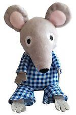 Bagpuss & Co Cozy Plush Charlie Mouse Microwavable Teddy Heatable Bed Warmer Toy