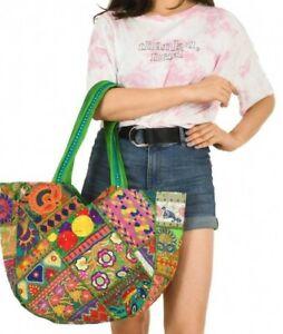 Indian Banjara Bag Woman Shoulder Banzara Designer Handmade Beg Velentine Wall01