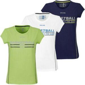 Spalding 4HER Basketball Women's Sports Training Fitness Top Team Shirt New