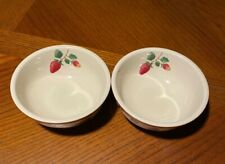 Longaberger Pottery Berry Fruit Medley Cereal, Soup Bowl (two - 2)