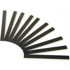 10PCS 40Pin 2.54mm Single Row Straight Female Pin Header Strip PBC Arduino