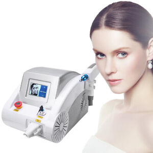 Pro Q Switch Nd Yag Laser 2000J Eyebrow Tattoo Removal Skin Rejuvenation Machine