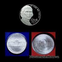 2015 P+D+S Jefferson Nickel Mint Proof Set ~ PD U.S. Coins from Mint Sets