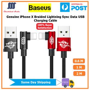 【Baseus】Genuine Elbow iPhone X  Lightning Sync Data USB Charging Cable
