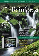 DVD Rainforest - turn your TV into a tropical rainforest
