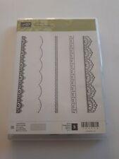 Stampin up ✿ Stempelset Delicate Details ✿ 5 Klarsicht Stempel Bordüren
