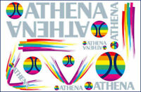 ATHENA KIT ADESIVI per YAMAHA YQ L AEROX EURO2 50 1999 2000 2001 2002 2003