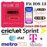 USA Lot R-SIM15 Nano Unlock RSIM Card For iPhone 11 Pro MAX XS XR 8 6S iOS 13+
