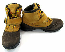 Timberland Boots Mallard Waterproof Bungee Wheat/Brown Shoes Size 6