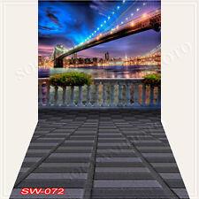 Cityscape10'x20'Computer/Digital Vinyl Scenic Photo Backdrop Background SW072B88