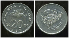 MALAISIE 20 sen 2004