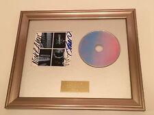 PERSONNELLEMENT signé / autographié DURAN - Papier DIEUX encadré CD présentation