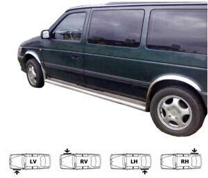Chrysler Voyager Bj. 90-95 Chrom Radlauf Leisten Rechts Links Styling 4 Stk Kit