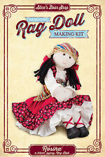 Sewing a Rag Doll Kit - Rosina with Gypsy Outfit - 54cm when made