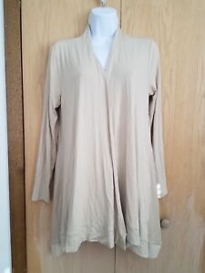 JM Collection Open Front Cardigan Sweater Rivet Detail Size Small NEW