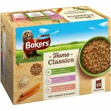 Bakers Home Classics Wet Dog Food Lamb Turkey Salmon Stew 10 x 100g Pouhes