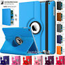 Apple iPad All Generation 360° Rotating Slim Leather Case Smart Stand Flip Cover