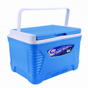 ThermoWagon EXTRA STRONG 5 L,  Camping Cool Box Cooler Chest, BLUE