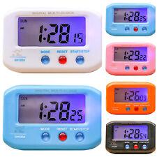 Night Light Digital Mini Small Alarm Clocks LED Display Snooze Home Desk Decor