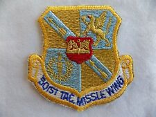 """Vintage 501ST TAC.MISSLE WING Patch Tactical Missile Wing US Air Force 3"""" x 3"""""""