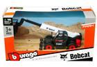 Bburago Window Box Farm Bobcat T40 180SLP Telescopic Handler Pallet Fork 1:50
