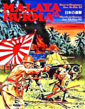 Hobby Japan Malaya & Burma Boxed Wargame UNPUNCHED English rules included #113