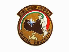 Patch Task Group Air Birgi Aeronautica Militar Operazione NATO Unified Protector