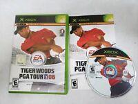 Tiger Woods PGA Tour Golf 06 (Microsoft Xbox 2005) Used Complete Original (2006)