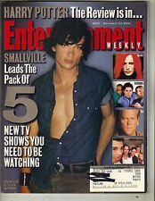 TOM WELLING SMALLVILLE Entertainment Weekly Magazine 11/23/01 HARRY POTTER
