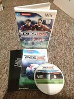 Pro Evolution Soccer (PES) 2010 - Nintendo Wii Game - With MANUAL! Free P&P!